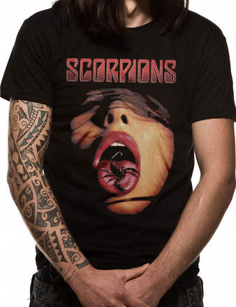 Scorpions (Tongue) T-shirt Preview