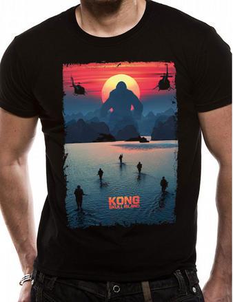 Kong Skull Island (Poster) T-shirt Preview