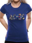 AC/DC (Blue Ladies) T-Shirt