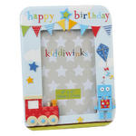 Kiddiwinks Photo Frame 4x6 Happy Birthday Boy