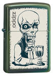 Chameleon Skeleton Bartender Zippo Lighter 28679 Brand New