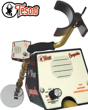 Tesoro Compadre Metal Detector VLF Silent Search Suitable For All Ages Brand New