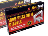 Am-Tech 1000pc 8mm Staples AMB3772