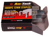 Am-Tech 1000pc 12mm Staples AMB3727