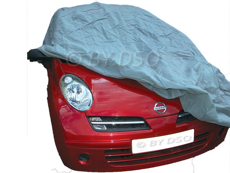 HILKA Vehicle Car Cover Medium Lightweight Breathable UV Treated 13 to 14ft HIL8
