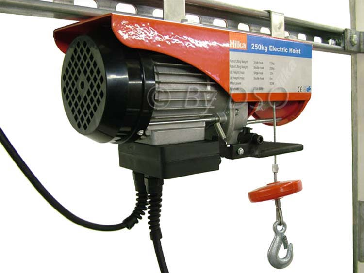 Hilka 500Kg 900W Electric Steel Rope Hoist Winch TUV, GS and CE Certified HIL849