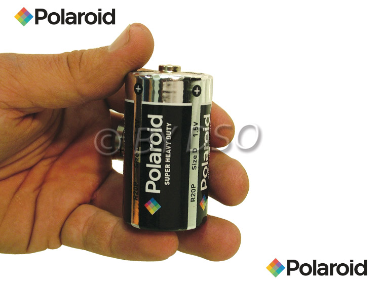 polaroid d taille r sistant batterie 2 pack pol44610 ebay. Black Bedroom Furniture Sets. Home Design Ideas