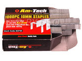 Am-Tech 1000pc 10mm Staples AMB3726