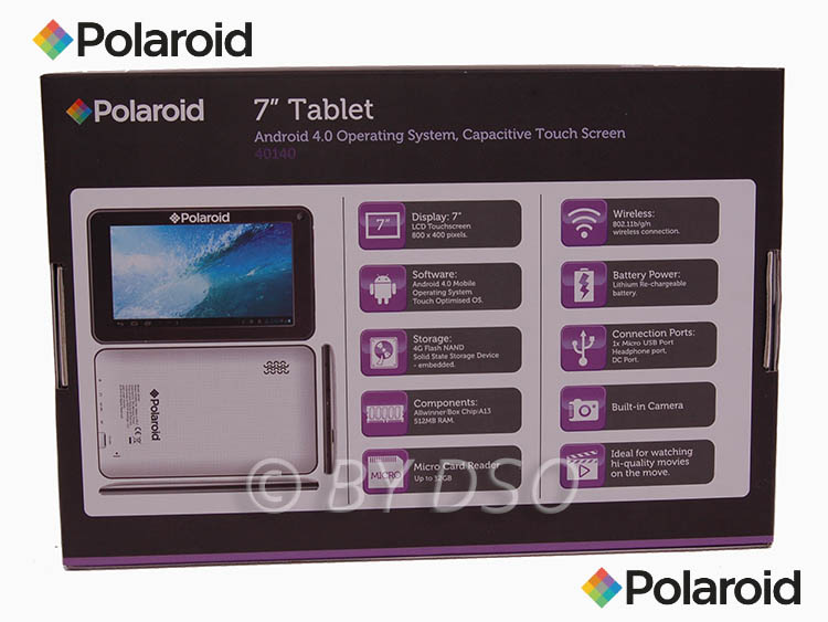 polaroid 7 android tablet wi fi pc pol40140. Black Bedroom Furniture Sets. Home Design Ideas