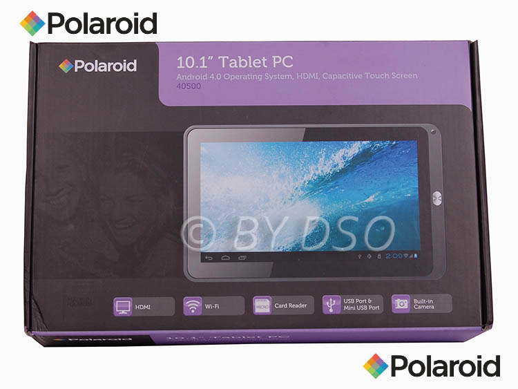 polaroid 10 1 android tablet wi fi pc pol40500 ebay. Black Bedroom Furniture Sets. Home Design Ideas