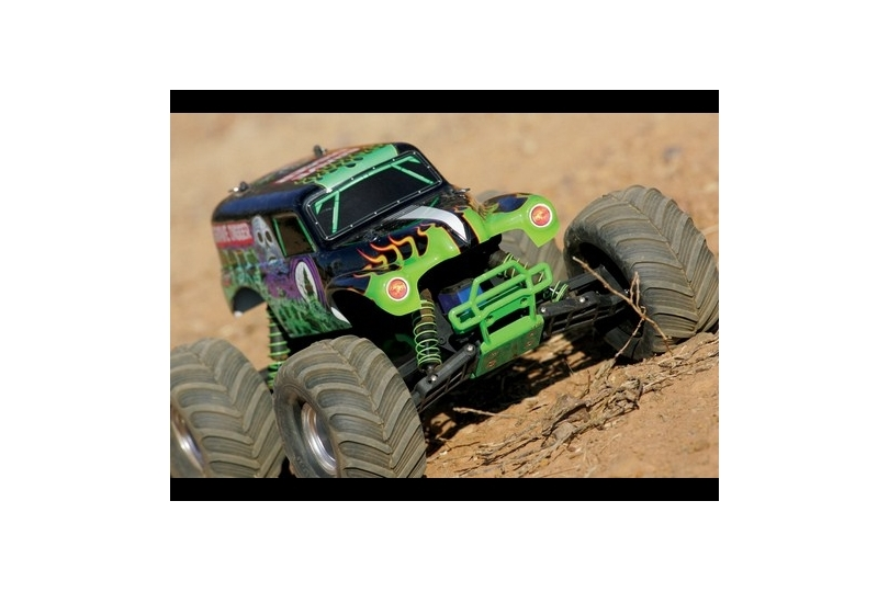 Traxxas Monster Jam Grave Digger XL-5 Electric RC Remote ...