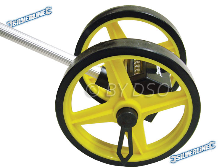 Silverline Mini Measuring Wheel with Dual Wheels SIL868793