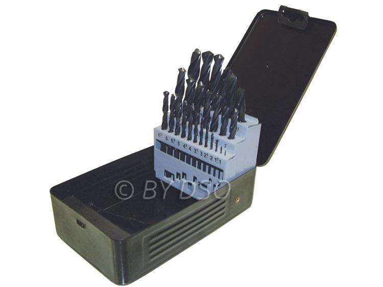 Hilka 25pc HSS (High Speed Steel) Drill Bit Set HIL49707025