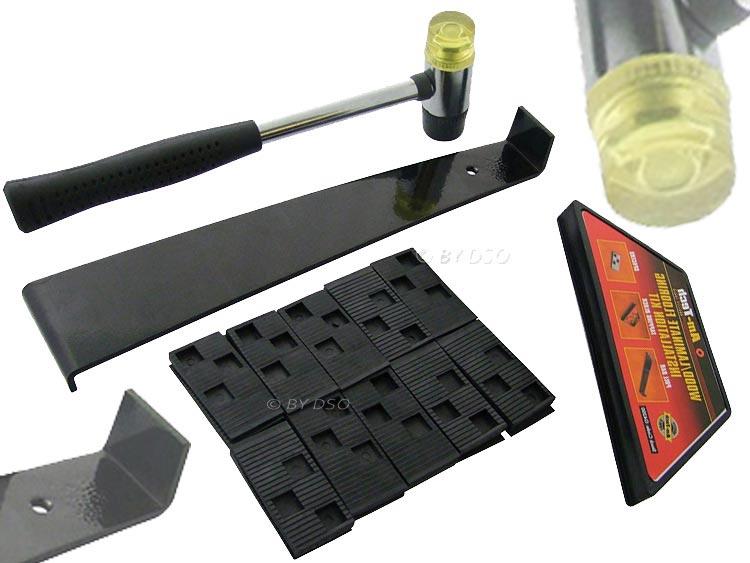 Am Tech Laminate Wood Flooring Installation Kit Pull Bar