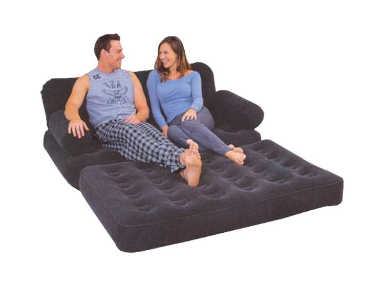 Flocked 5 In 1 Multifunctional Double Blow Up Inflatable Sofa Bed Chair Bml88170 Ebay