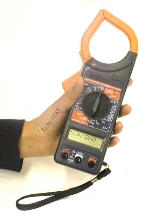 Professional 1000 Amp Digital Clamp on Multimeter EL061
