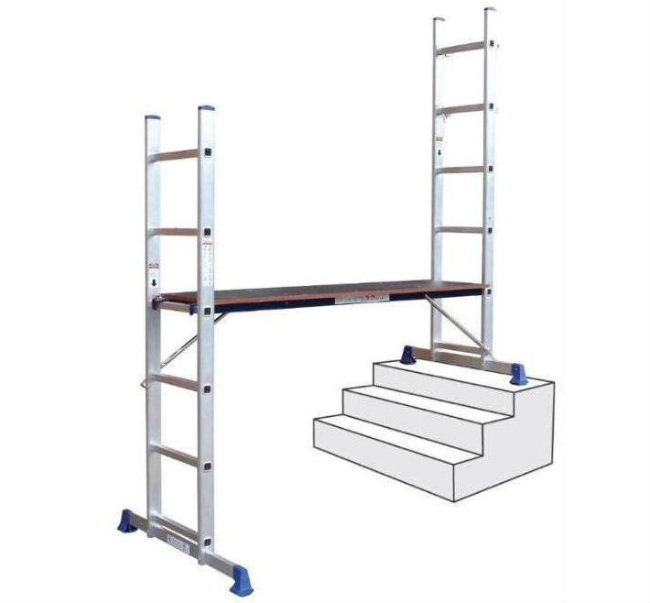 Ladder Scaffold System : Pro user multi purpose scaffold and ladder system sl ebay