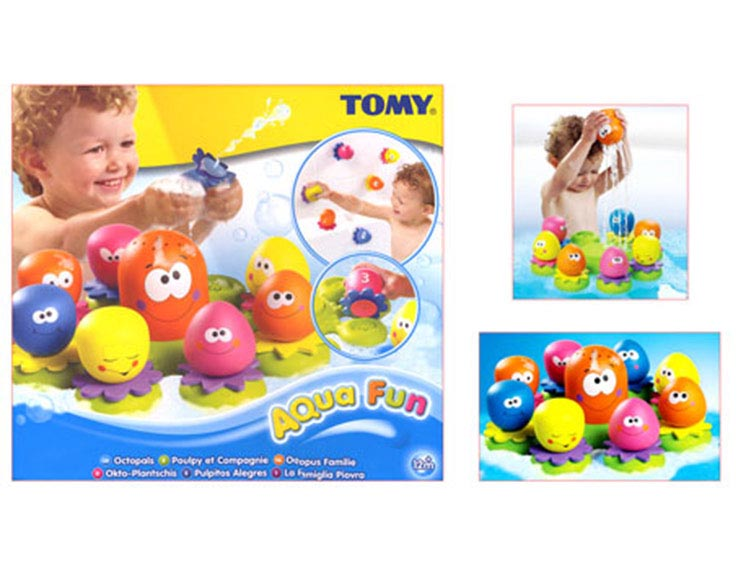 Fun Time Toys : Tomy aquafun octopals fun bath time toy ebay