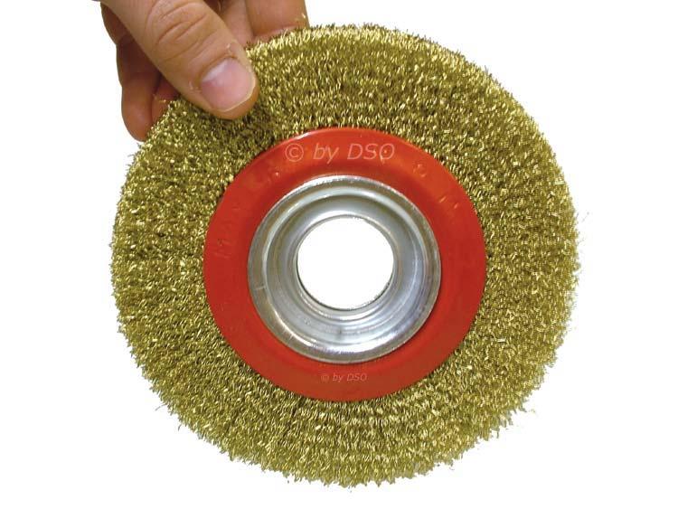 6 inch 150mm bobine fine c ble pour touret a meuler avec - Brosse metallique meuleuse ...