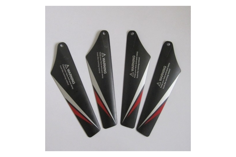 Rotor Blade Set Of 4 (Red) (S107C-02)