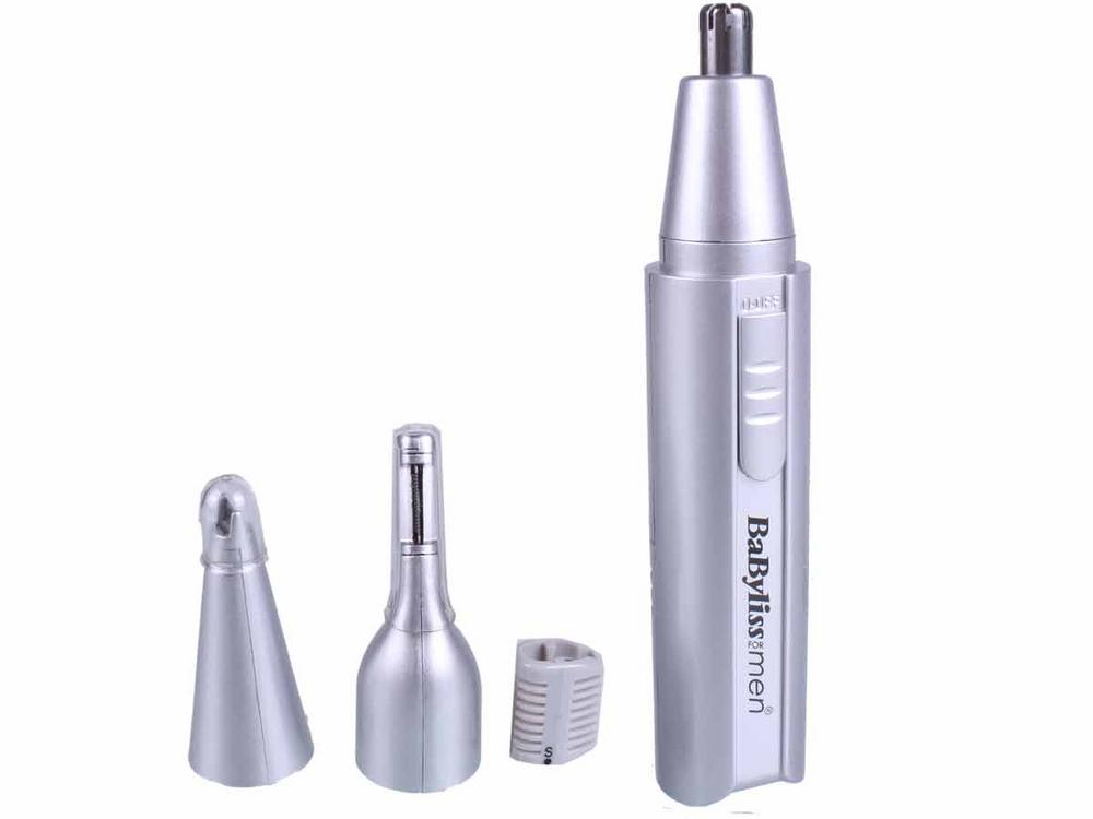 Babyliss Mens 3 in 1 Nasal Trimmer with Washable Head BA-7051BU