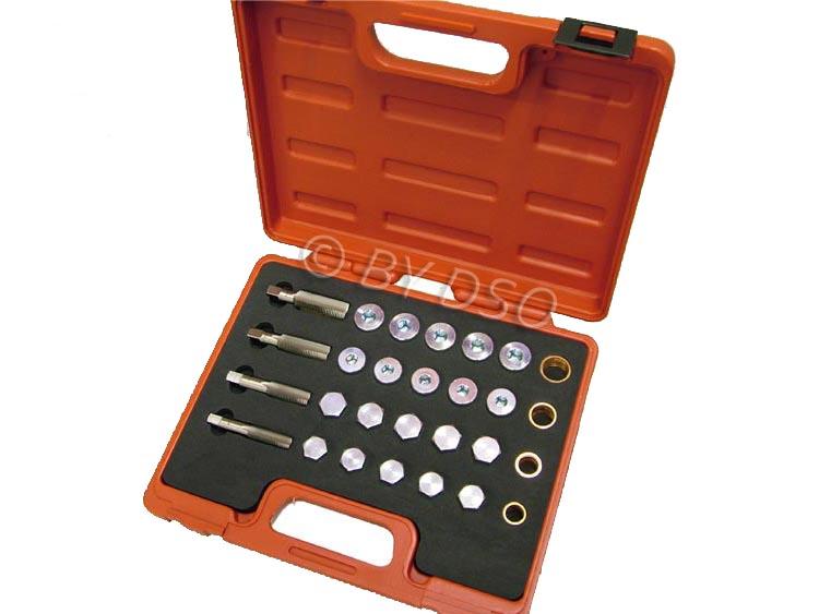 BERGEN Professional 64 Piece oil Drain Repair Kit