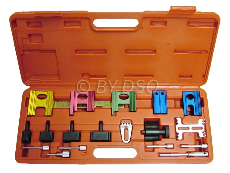 BERGEN 16 Piece Twin Camshaft Locking and Setting Kit for Petrol Engines