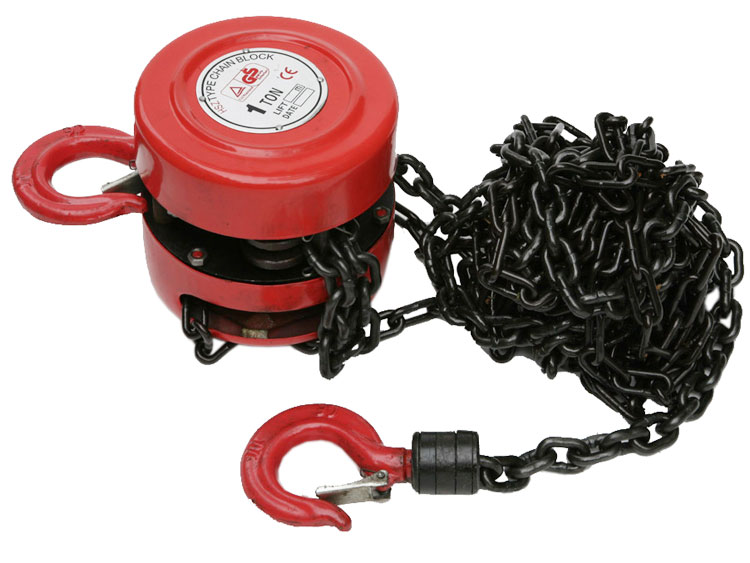 Hilka Heavy Duty 1000KG Lifting Block and TacKle with Chain 1000kg HIL84991000