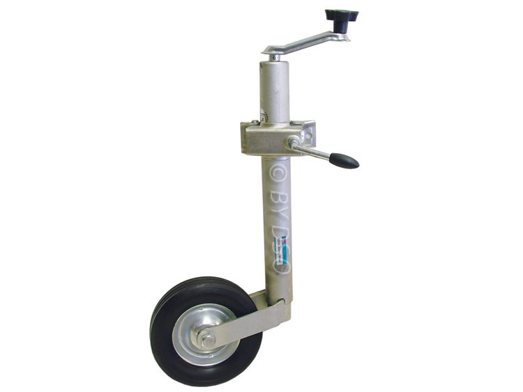 Hilka Trade Quality 42mm Jockey Wheel for Caravans, Trailer and Boats