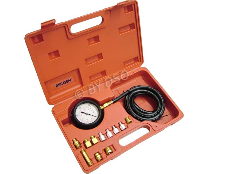 BERGEN Comprehensive 13 Piece Oil Pressure Kit