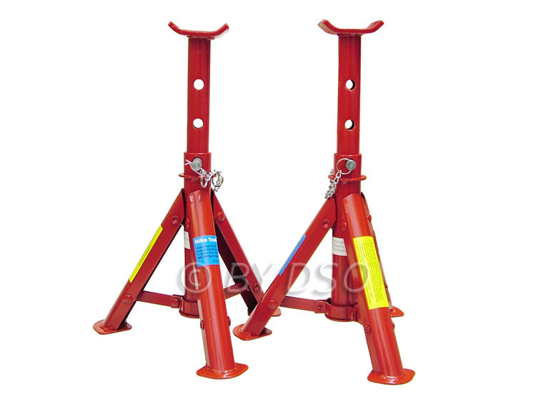 Hilka 2 Ton Adjustable Folding Axle Stands HIL82420040