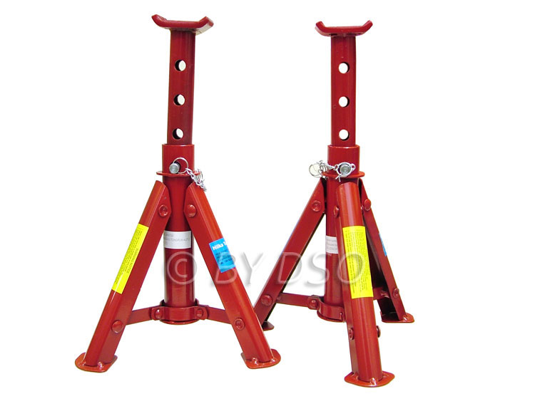 Hilka 3 Ton Adjustable Folding Axle Stands HIL82420050