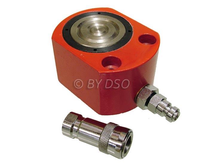 Short Hydraulic Jacks : Portable hydraulic ton short lift jack