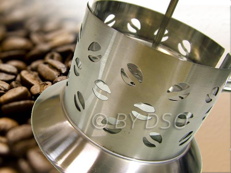 apollo edelstahl 800ml glas kaffee zug french presse ap8270 ebay. Black Bedroom Furniture Sets. Home Design Ideas