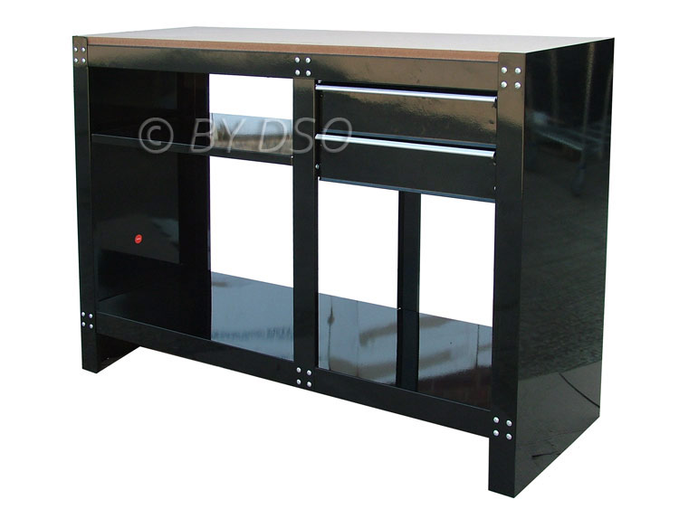 Hilka 2 Drawer Professional Work Bench HILTB51077