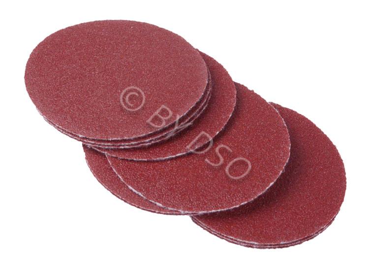 BERGEN Vewerk Bodyshop Spec 50 Pack 50 mm Velcro Sanding Discs 240 Grit BER8078