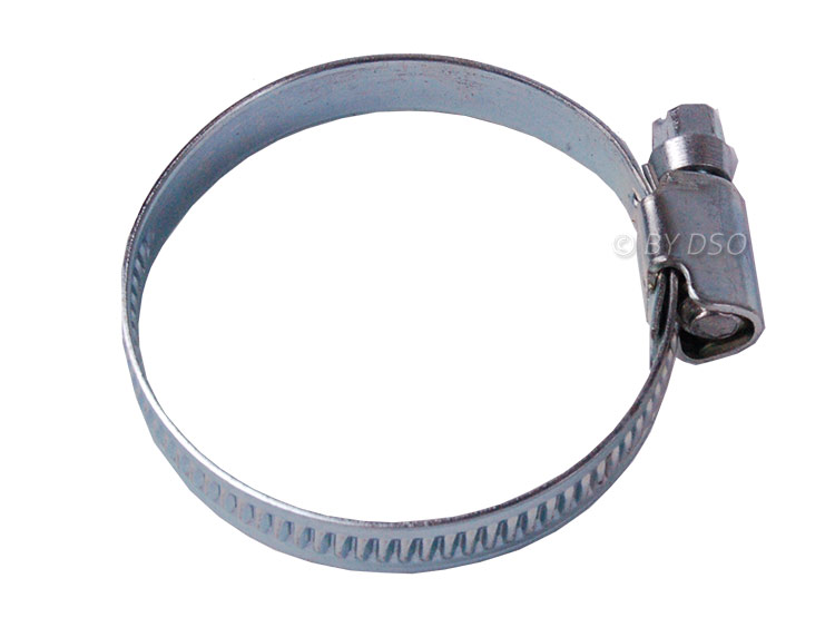 BERGEN 50 Pack Jubilee Hose Pipe Clamp Clips For Air Water Fuel Gas 32 to 50 mm