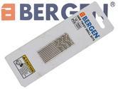 BERGEN Professional 10 Pack 2 mm HSS 4241 Drill Bit BER2574
