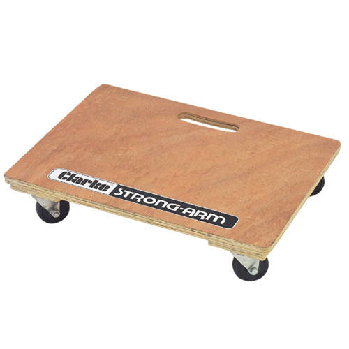 CLARKE CDT4 Wooden Dolly Truck Max Load 200KGS Stong Arm with Heavy Duty Castors