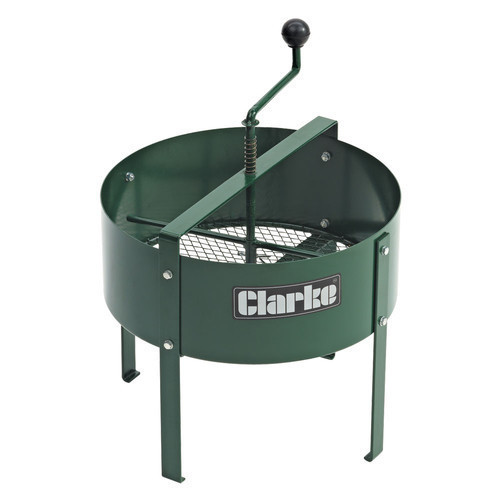 Clarke CRS400 Rotary Soil Sieve for Soil/Compost Durable Mild Steel Construction