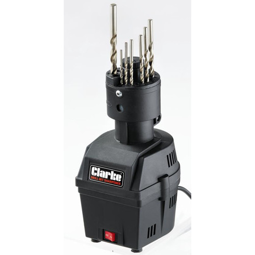 Clarke Electric Drill Bit Sharpener for 3.6 to 10mm drill bits 70W 1600rpm CBS16
