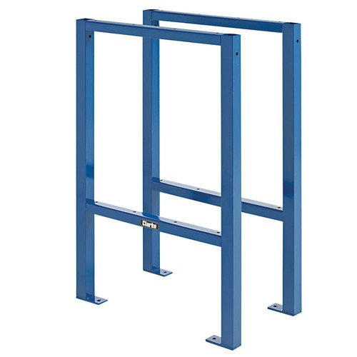 Clarke CWTS1 Work Table Supports (Pair) (HxD): 832x580mm Weight 6.6 kg