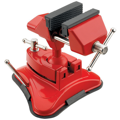 CLARKE ENGINEERS RUBBER JAWED SUCTION BASE VICE 70mm VBV-70