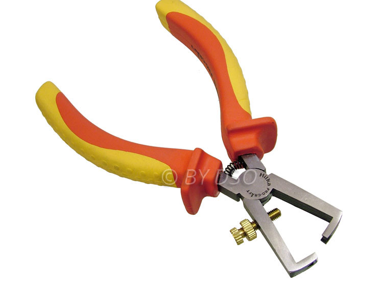 Hilka Pro Craft 6 inch VDE Insulated Wire Stripper HIL26980006
