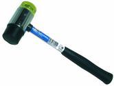 Hilka 45mm Rubber and Plastic Mallet Tubular Shaft Pro Craft HIL60600045