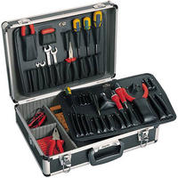 Clarke ATC30 - Engineers/Electricians Tool Case Anodised Aluminium Construction