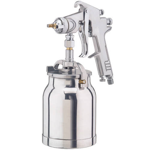 CLARKE AIR SPRAY GUN 1 LTR SYPHON CUP 1.8mm external