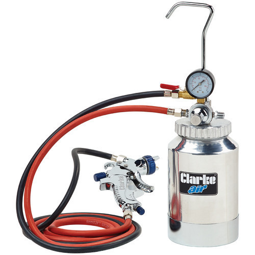 Clarke CPP2B Pressurised Paint Container 2 Litres with Pressure Gauge