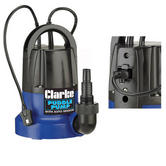 "Clarke PSP105 250W Puddle Pump With Auto Sensor 100l/min rated Outlet:1.5"" BSP"
