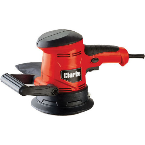 Clarke CROS3 450W 125mm  Random Orbital Sander 230V Variable speed 7000-14000rpm